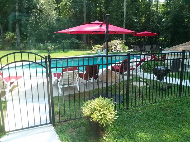 Fenced Pool area