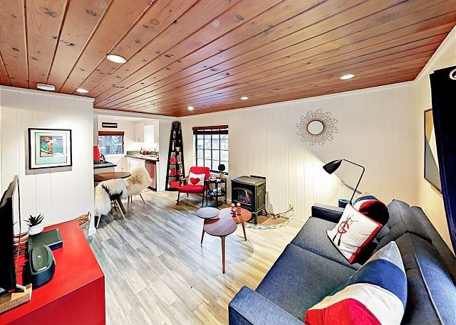 Sala de estar - Cabaña Wrigley