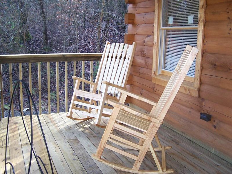 Front Deck with Rockers