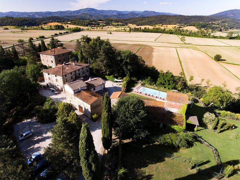 Casa Vacanze Villa Maria - appartamento Fabrizia, holiday rental in Anghiari