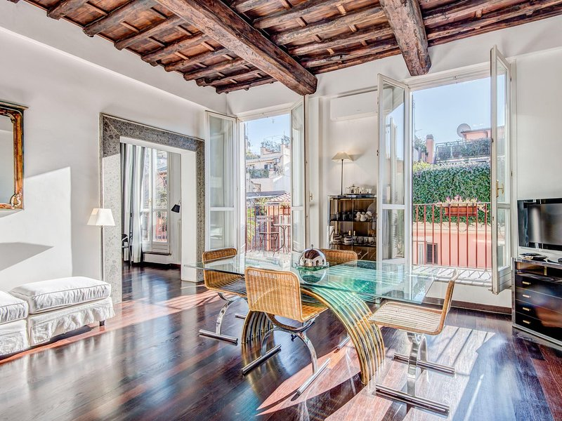 Luxury Spanish Steps Terrace Has Terrace and Wi-Fi ...