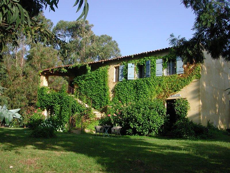 In Corsica, south of Calvi, the Gite de Verdure at Gites de Paradella