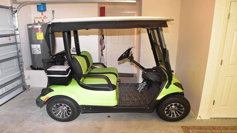 Golf Car Fully Insured