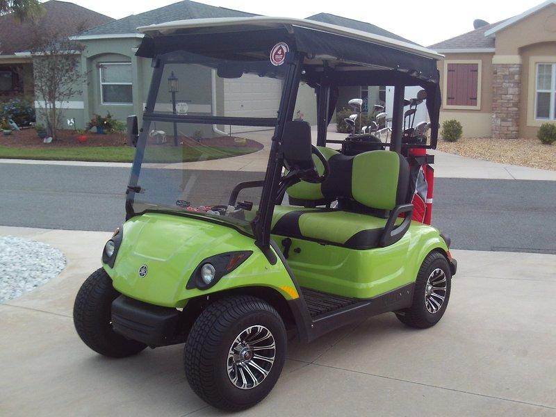2012 Yamaha Gas Cart