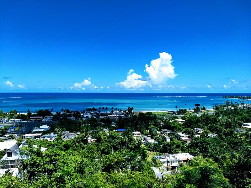 Stunning views to sea and El Yunque, new renovation, new furniture, comfortable & spacious!