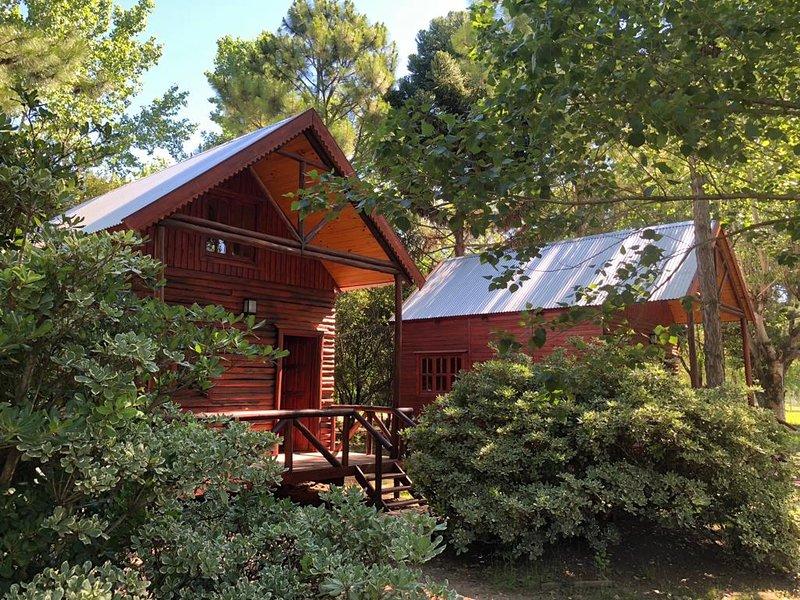 Cabañas Fratelli - Apart de Bosque, vacation rental in Province of Santa Fe