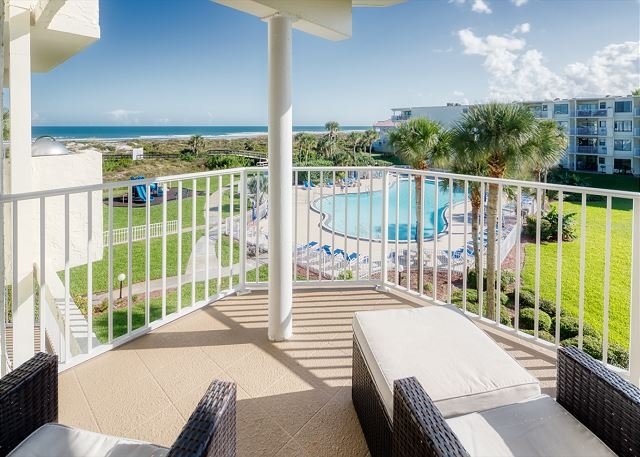 Ocean View With 3 Bedrooms 2 Bathrooms at Colony Reef Club 2306, casa vacanza a Saint Augustine