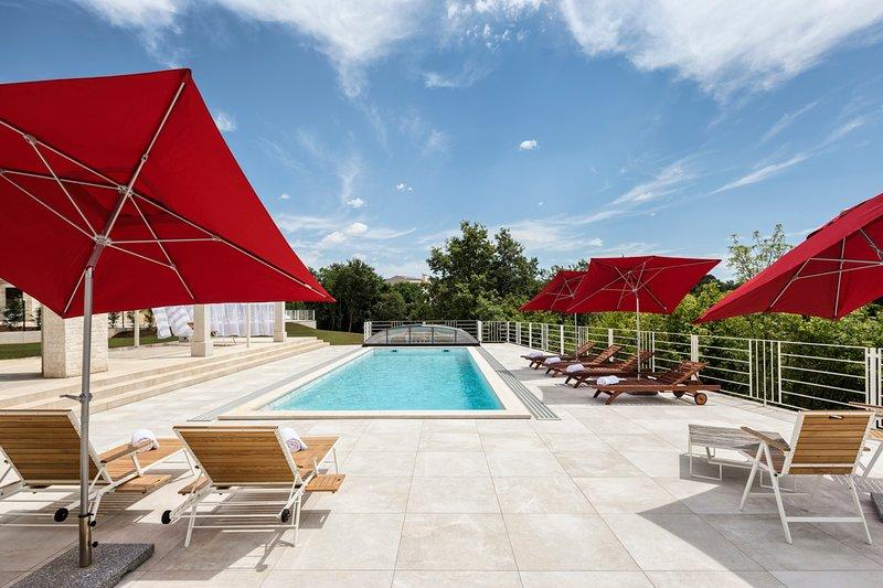 Cabrunici Villa Sleeps 10 with Pool and Air Con - 5634882, location de vacances à Svetvincenat
