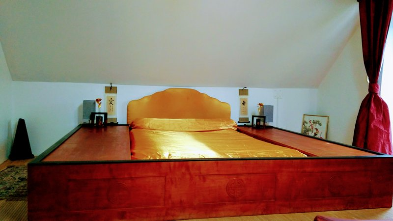 Chambre Zen avec salle de bain privée, holiday rental in Septeuil
