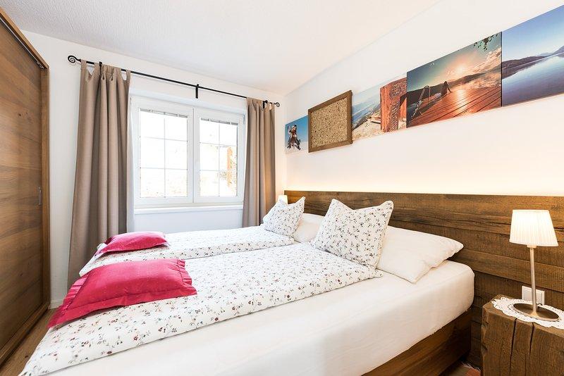 Seefels Apartments directement sur le Millstätter See | Salle à manger-cuisine