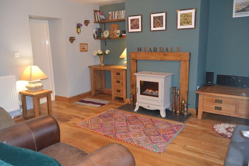 Lily's Cottage, 16 Hood Street, St John's Chapel, Weardale, holiday rental in Rookhope