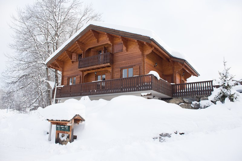 Chalet Soleil Riant | a traditional alpine chalet, holiday rental in Grand Massif