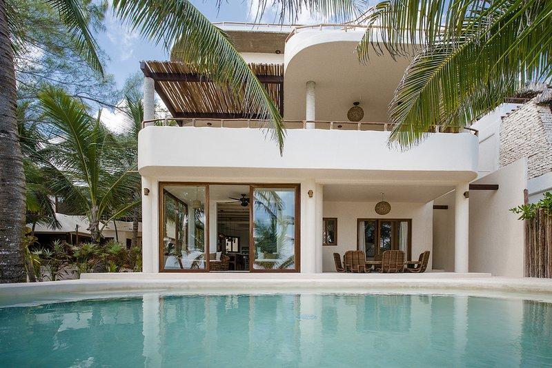 5BR Villa Sian Kaan - Stunning Mahayana Tulum Beach Home!, vacation rental in Tulum