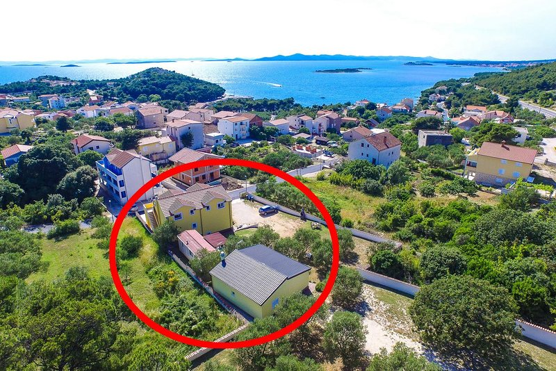 Two bedroom apartment Drage, Biograd (A-5904-a), holiday rental in Drage