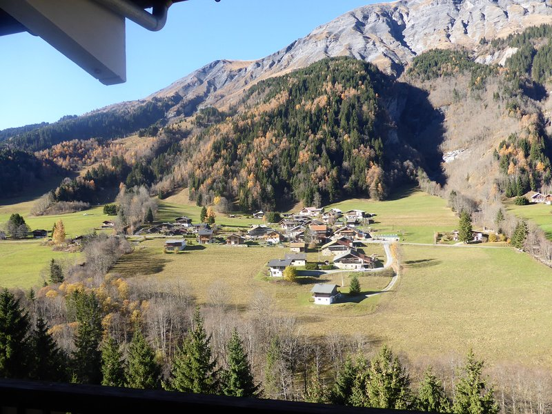 Bright and spacious apartment 8p, with views of Mont Joly! Chalet in Les Contamines
