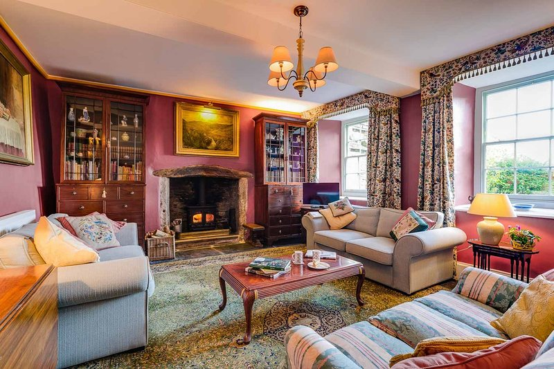 The West Wing at Trevadlock Manor, holiday rental in Altarnun