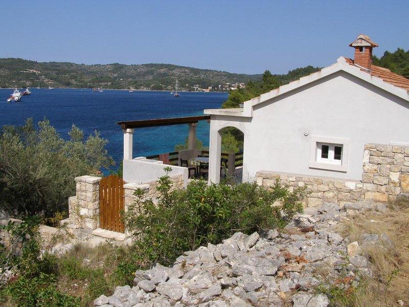 Two bedroom house Cove Pičena, Korčula (K-14090), holiday rental in Blato