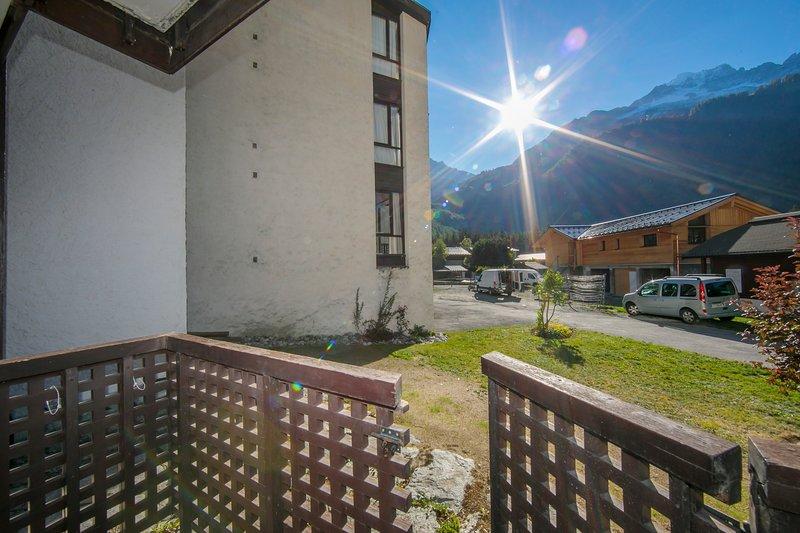 Very sunny balcony