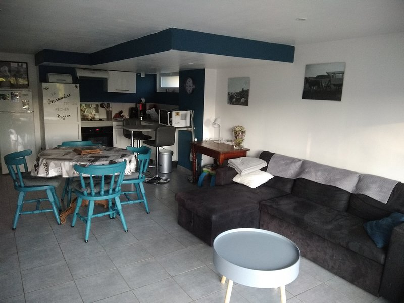 Nice house with terrace & Wifi, holiday rental in Nielles-le-Blequin