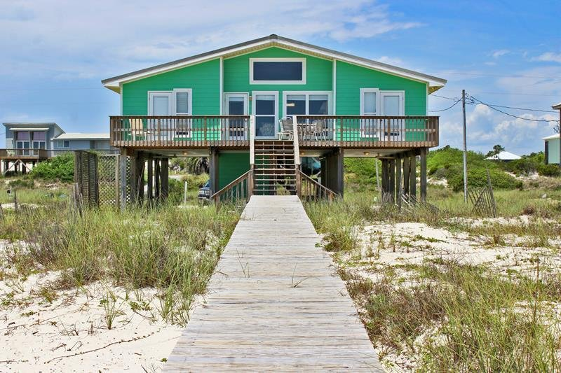 Cabana Beach House- The Sand is White~ The Water is Clear! Why are You not, vacation rental in Fort Morgan