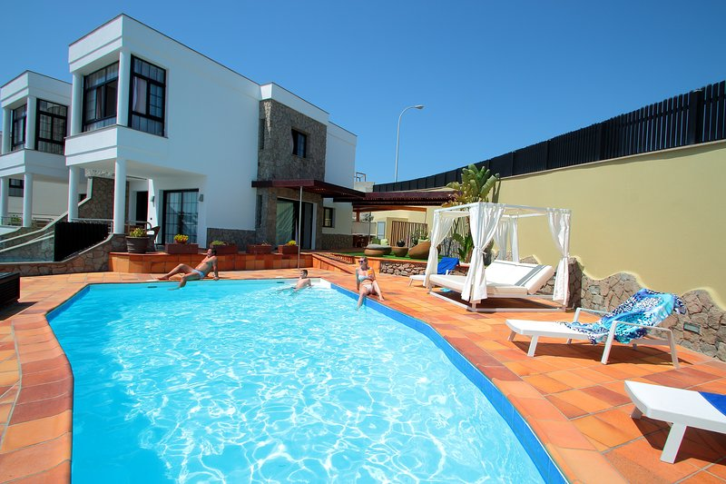 Luxus Chill Out Villa in Puerto Rico - Amadores, casa vacanza a Portorico