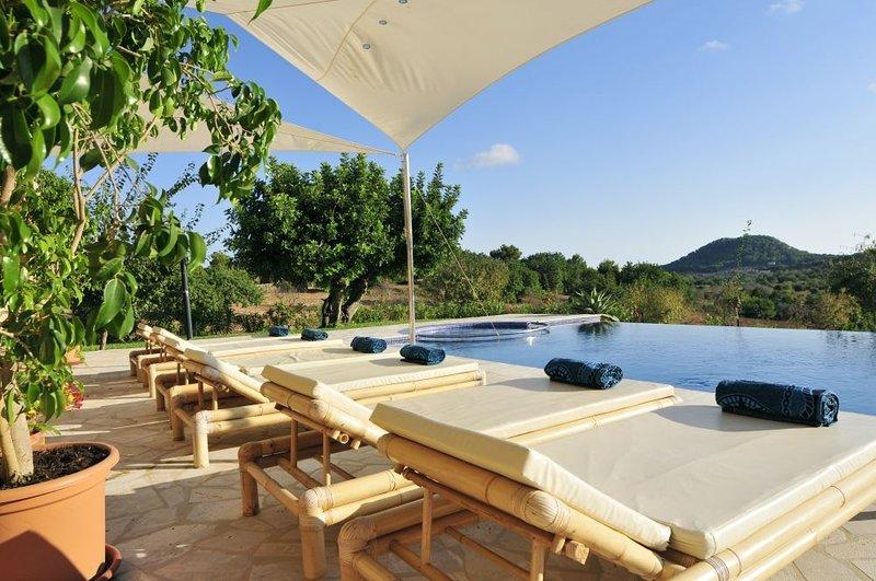 Finca Mimosa, holiday rental in Santanyi