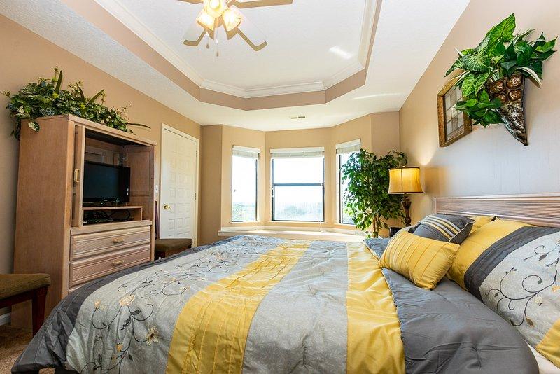 Chambre à coucher principale vue 2
