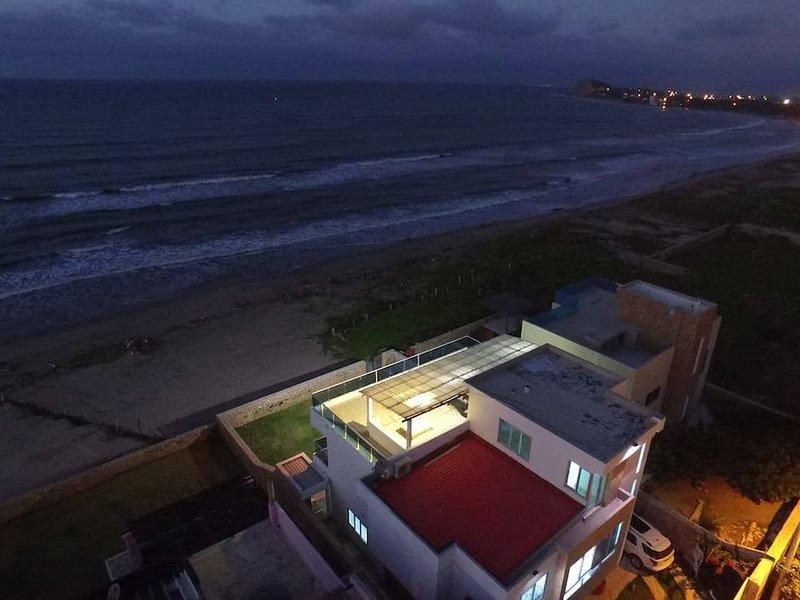 Huis uitzicht vanuit de lucht