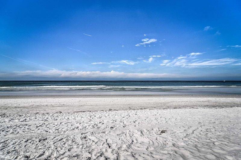 Trascorri giornate rilassanti sulla spiaggia.