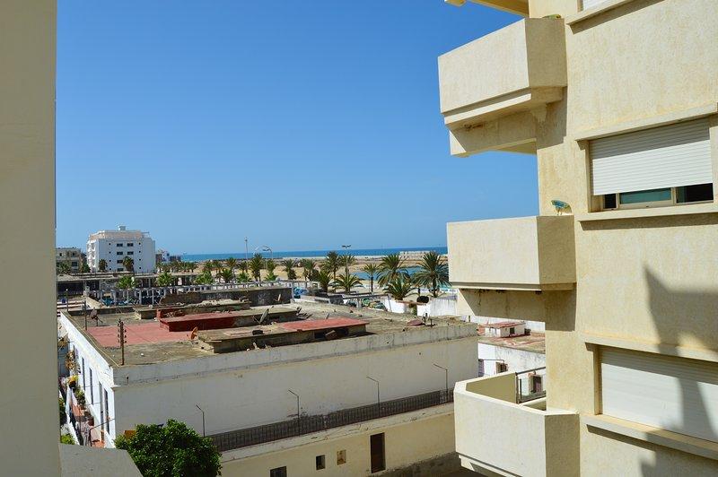 Views of the balcony