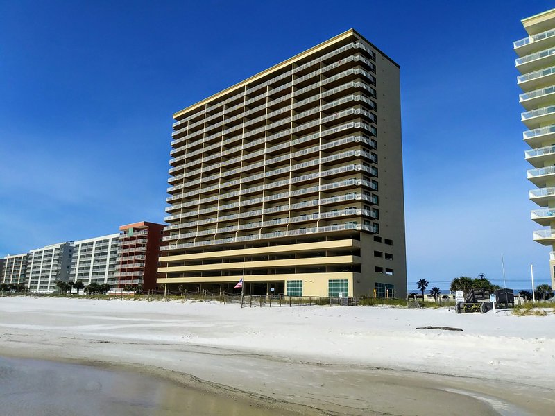 Crystal Shores West is directly on the beach and in a prime location along West Beach.