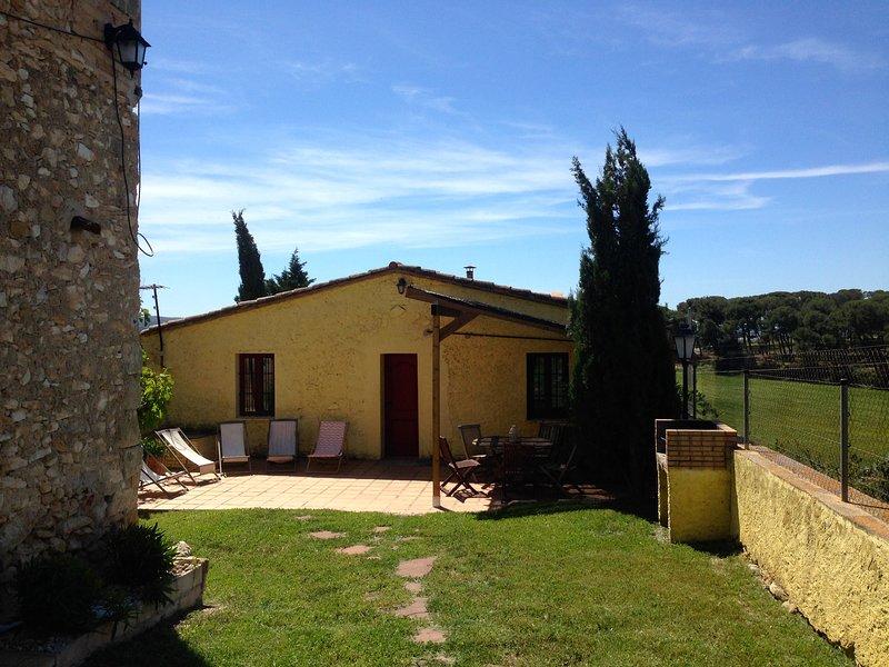 La Vaquería, vacation rental in L'Arboc