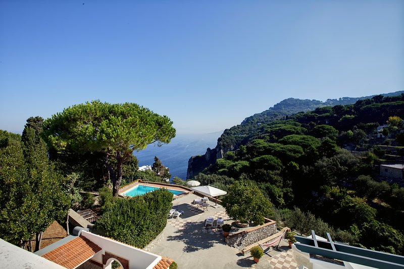 Suite Villa Carolina Capri, location de vacances à Capri