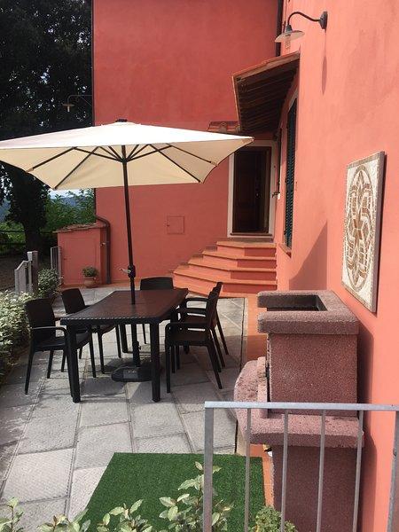 Casa ColleVento, a Bucciano, un meraviglioso Borgo con vista mozzafiato!, holiday rental in Ponte A Egola