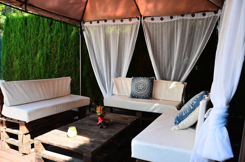 Villa Reggae para 8 personas, holiday rental in Miravet