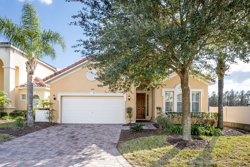 Beautiful 5 BR, 4BA single story villa, with a heated pool and spa.