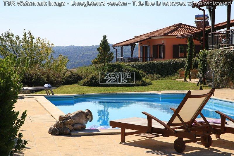 Amazing View by the Pool in Agios Nikolaos I, vacation rental in Ormos Panagias