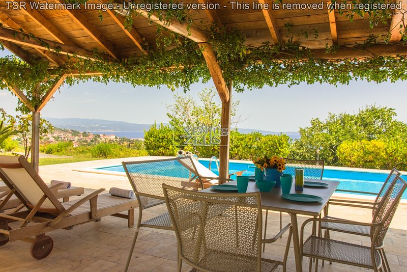 Amazing View by the Pool in Agios Nikolaos II, holiday rental in Sithonia