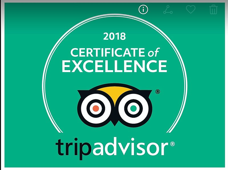 5 Star Certificate of Excellence Toegekend 2018