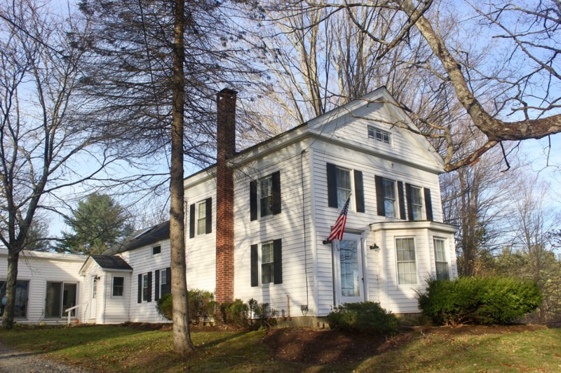 Classic 19th century New England Colonial