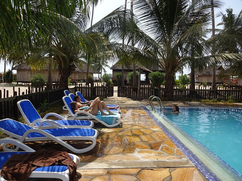 The resort is a luxury hotel on a quite pristine white sand beach near Sange vil, holiday rental in Pangani