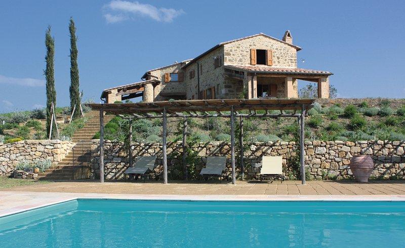 Appartamento Ginestra Villa Pennella, vacation rental in Monticchiello