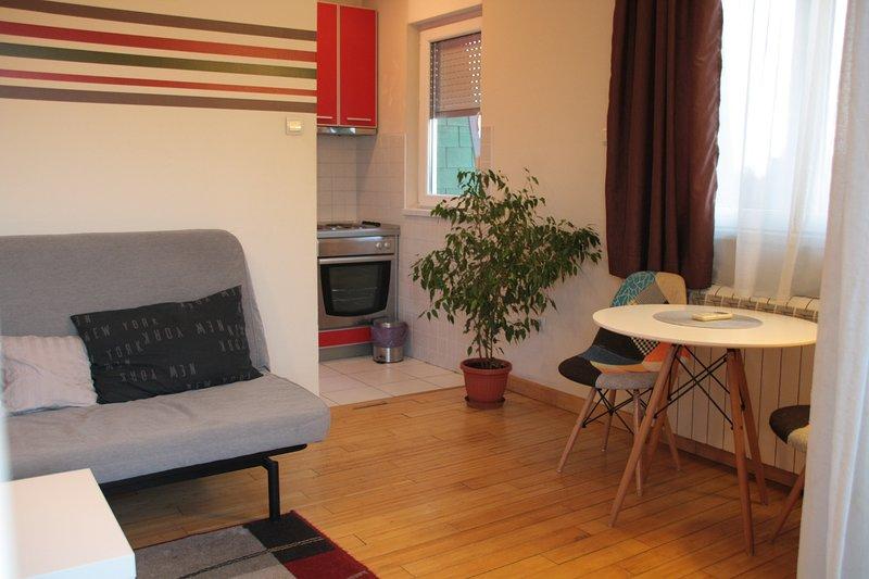 Apartment New Residence , Zemun, Serbia, alquiler vacacional en Borca