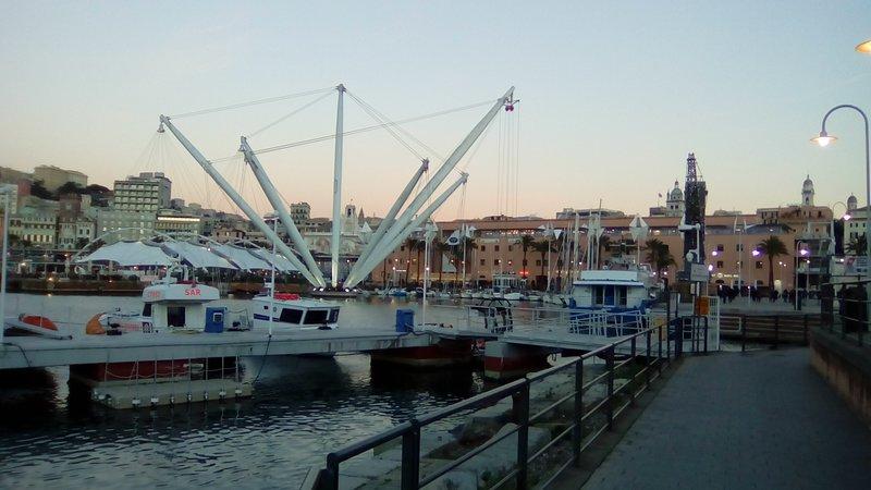 Il Porto Antico- The old Port and the Acquario