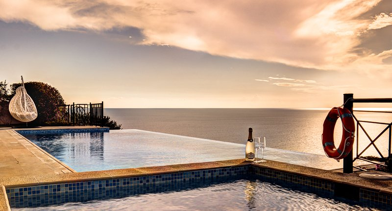 Villa Persephone - stunning 5 bedroom villa with amazing sea and sunset views, Aphrodite Hills