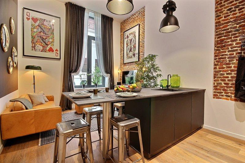 Clemenceau 1 - 2 bedrooms, location de vacances à Trois Ponts