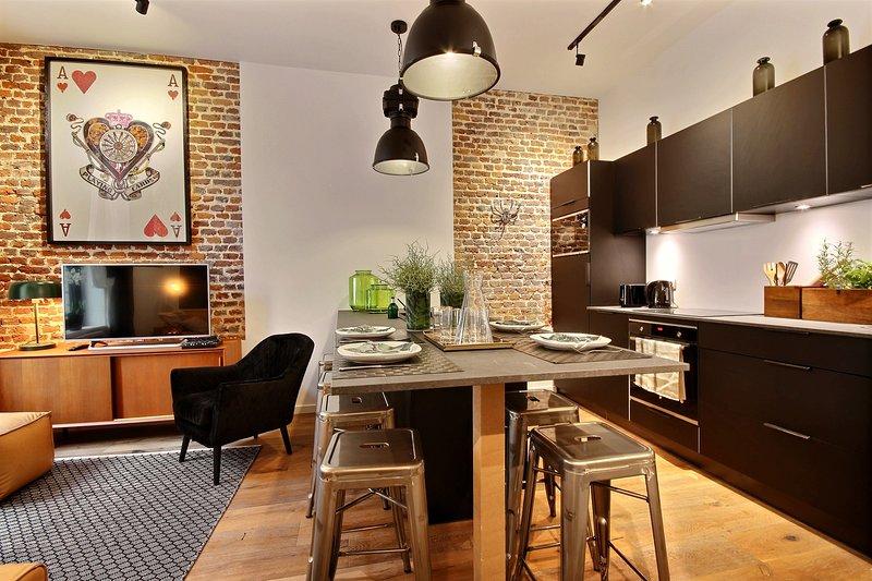 Clemenceau 2 - 2 bedrooms, location de vacances à Trois Ponts