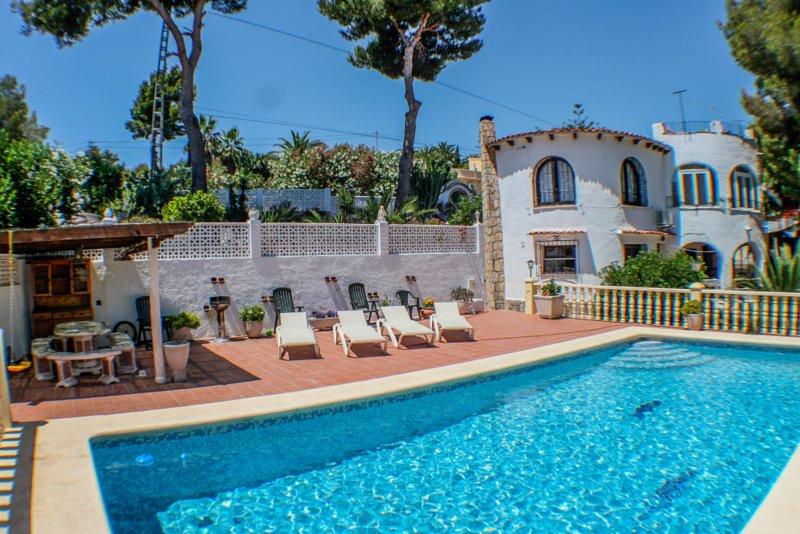 El Cisne - holiday home with private swimming pool in Benissa, location de vacances à Benissa