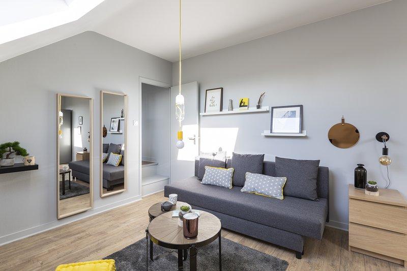 Azulejo - Cocon confort et calme en bail mobilité, casa vacanza a Saint Herblain