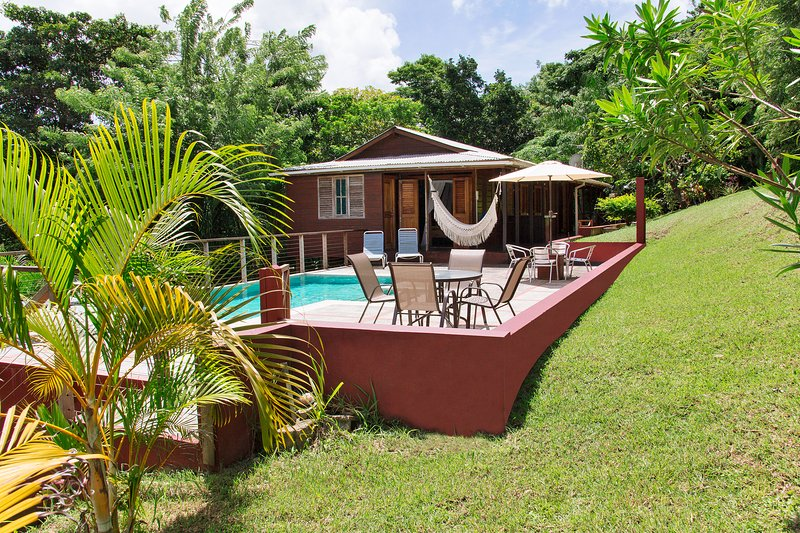 Mary's Hill Lodge, Tobago, vacation rental in Lambeau